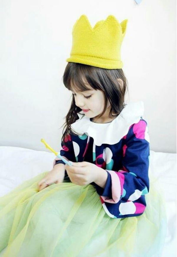 可爱小女孩子的萌图片