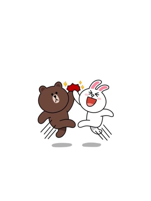 的韩国布朗熊系列qq皮肤_萌到不行_qq可爱皮肤_剑速网