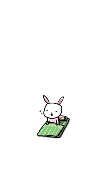 最新简笔画可爱小兔子qq皮肤库