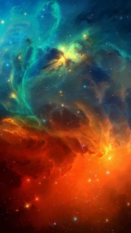唯美星空意境QQ皮肤 在想象不到的时空里