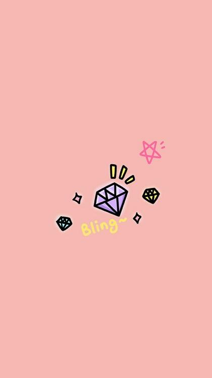 粉色系列带字QQ皮肤 每天都是粉红色