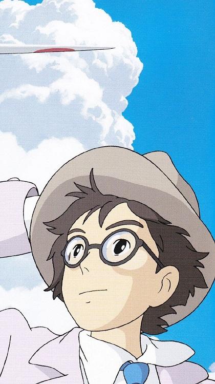 宫崎骏经典动漫起风了人物皮肤大图图片