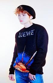 EXO边伯贤超拽QQ皮肤,爱上你的那天起