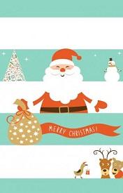 可爱的圣诞节扣扣皮肤,圣诞节快乐